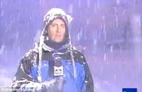 I like watching Jim Cantore, but I hope to never see him standing like this on my street.