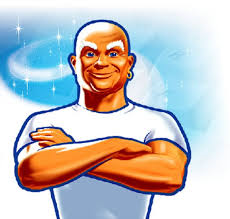 Mr. Clean is just one of the guest coaches I hope to have for my fantasy cleaning camp.