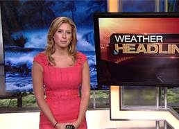 Stephanie Abrams is a familiar face at our house, as are the rest of the personalities on the Weather Channel.