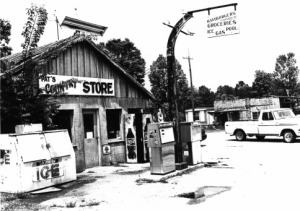 Pat's Country Store as it appeared in better times in McCaskill, Arkansas.