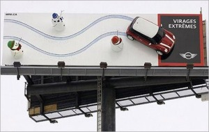 Here's a billboard that I've always thought was really clever.