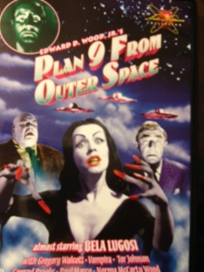 "Considered one of the worst movies ever made, ""Plan 9 from Outer Space"" made a great addition to my collection."
