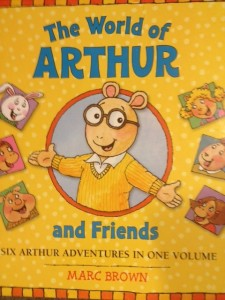 My son loved Arthur, both the books and the television series.