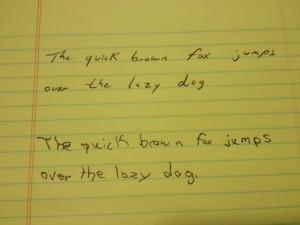 handwriting pic