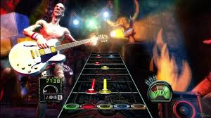 When no other cure would work, we called on (Dr?) Guitar Hero to heal my ailing son.