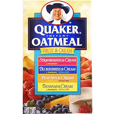 This oatmeal seems like a healthy choice at breakfast, but I'll take a bowl of chocolate chip cookies any day of the week.