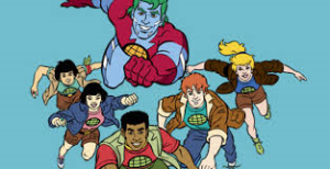 I used to think Captain Planet was pretty lame. But now, in hopes of avoiding being wished into the cornfield by some kind of new mind meld technology my son might invent, I'm going to say that the Captain and his gang are REALLY COOL!