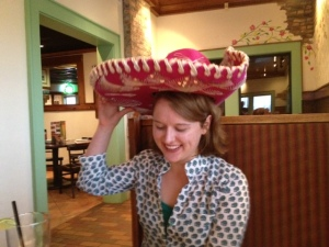 What would a 21st birthday be without a little embarrassment thrown in?