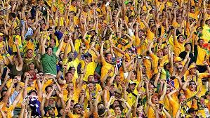 We loved the colors of the crowd in the Brazil- Chile match, where the fans wore bright yellow to support their home Brazil team.
