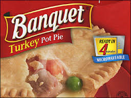 I used to buy those sorry potpies that took FIVE minutes to cook, but that was waaaaaay too long to wait for dinner.