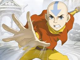 The Avatar is this cool kid with an arrow on his head - not that I like the show or anything.
