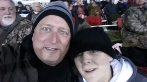 My son and I have found that the best way to spend an off night from football is with MORE football.